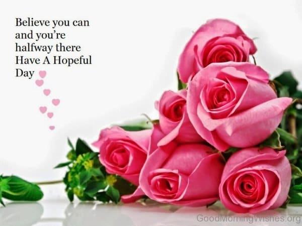 Ảnh hoa hồng đẹp chúc mừng ngày mới ý nghĩa