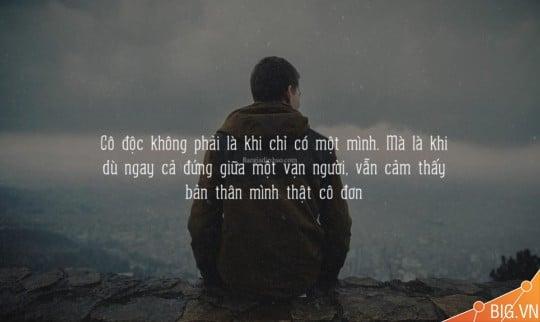 Ảnh stt buồn về sự cô độc trong cuộc sống