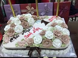 Bánh kem sinh nhật hình hoa hồng đẹp