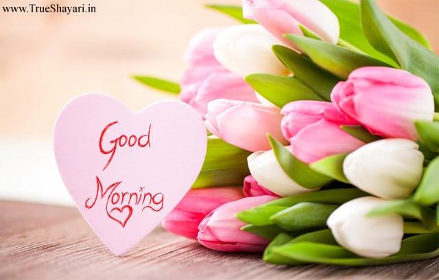 Bó hoa tươi thắm chúc một ngày mới vui vẻ tốt lành