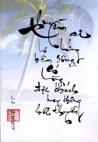 Câu thơ thư pháp hay về tình yêu