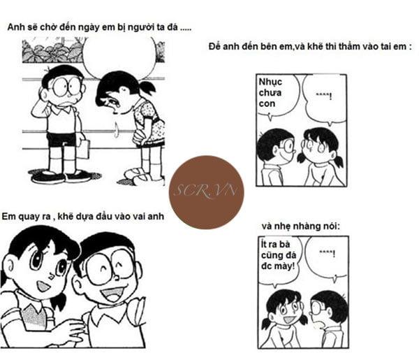 Chế Nobita tán gái