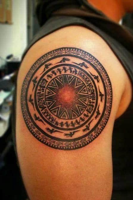 Chia sẻ đến bạn kiểu tattoo trống đồng