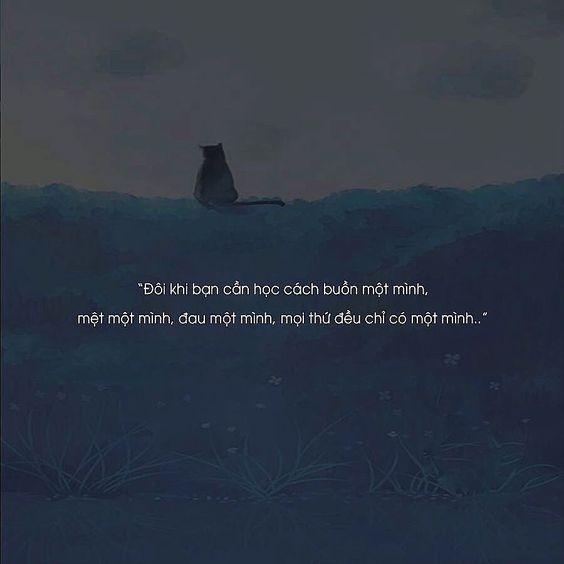 Hình stt về nỗi buồn trong cuộc sống