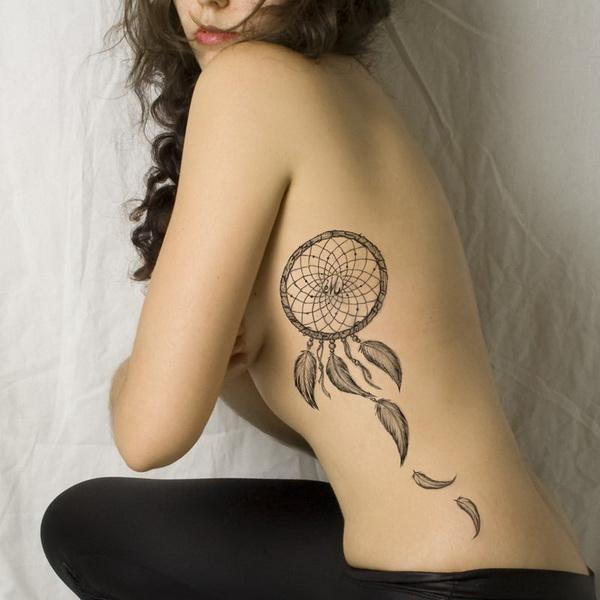 Hình tattoo bên hông sườn đẹp mê mẩn