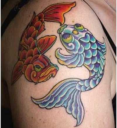 Hình tattoo cung Song Tử ý nghĩa