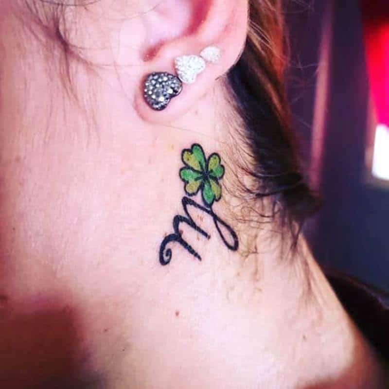 Hình tattoo cung Xử Nữ cho nữ