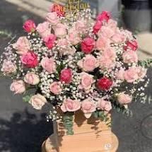 Hoa hộp sinh nhật đẹp