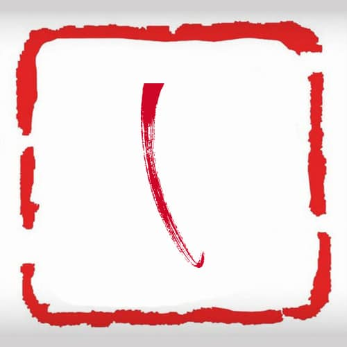 Kiểu chữ L thư pháp độc đáo