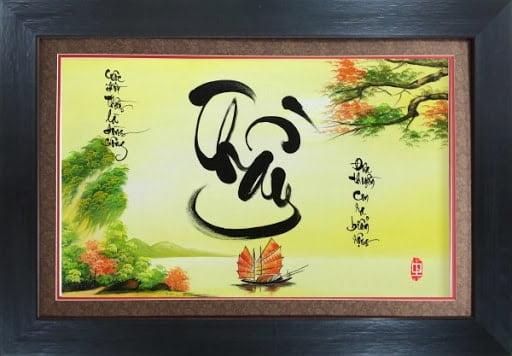 Kiểu chữ thầy thư pháp đẹp tặng quà dịp ngày Nhà giáo Việt Nam