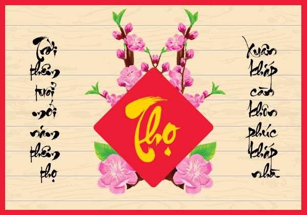 Kiểu chữ thư pháp hay cho ngày năm mới