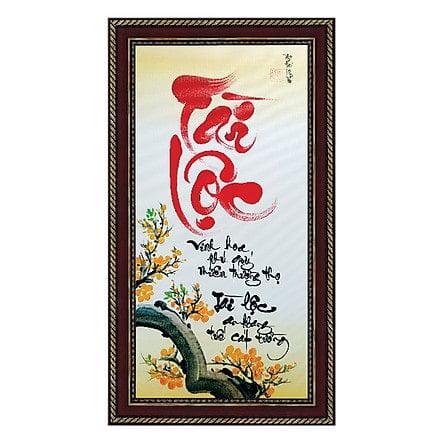 Kiểu tranh về chữ Tài Lộc ý nghũa
