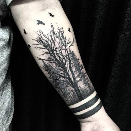 Mẫu tattoo đẹp cho người mệnh mộc