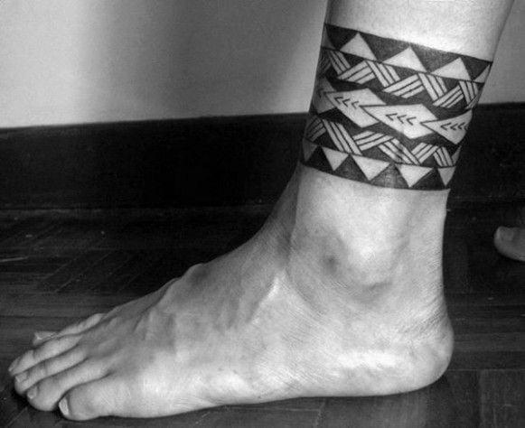 Những kiểu xăm vòng chân nam độc đáo
