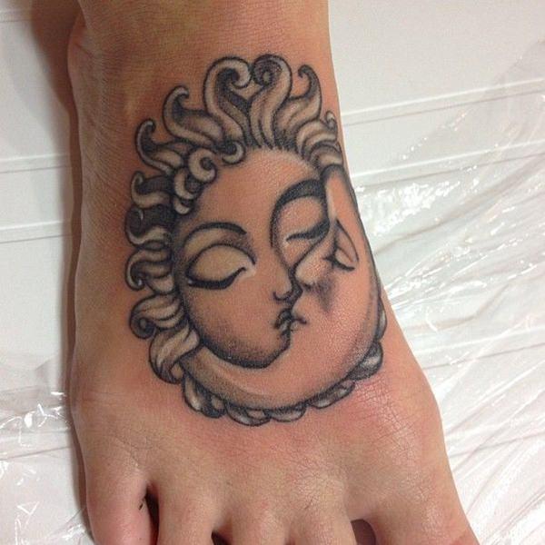 Tattoo hợp cung Song Tử đẹp