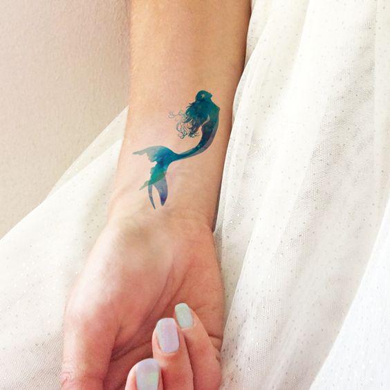 Tattoo may mắn cho nữ mệnh mộc