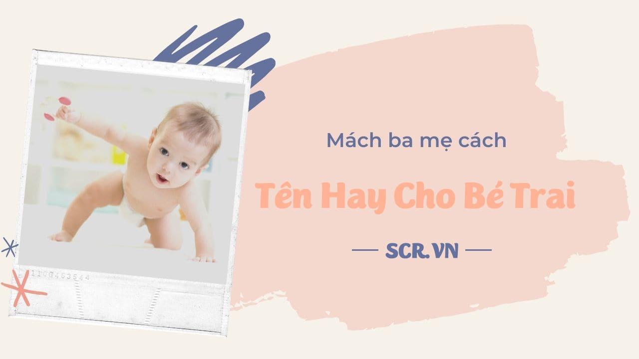 Tên Hay Cho Bé Trai