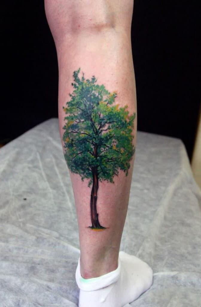 Xăm tattoo đại lâm mộc đẹp ngây ngất