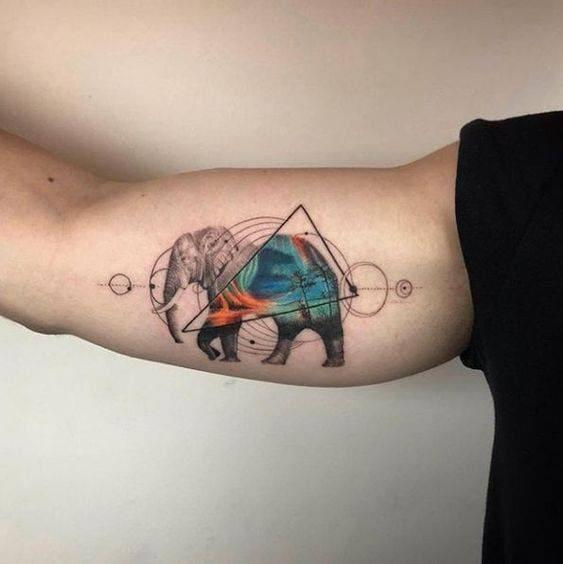những mẫu tattoo bắp tay trong đẹp