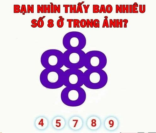 Có bao nhiêu số 8