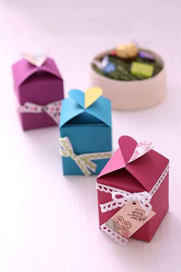 Hình ảnh quà tặng ngày Valentine handmade dễ thương