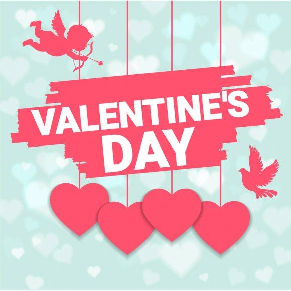 Hình ảnh thần cubit và ngày lễ valentine đáng yêu vô cùng