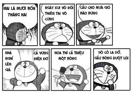 Hình chế nobita ngày valentine cực vui nhộn