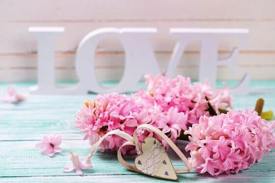 Hình hoa và trái tim cho ngày valentine ý nghĩa