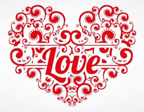 Hình nền bày tỏ tình yêu cực chất với người ấy trong ngày valentine