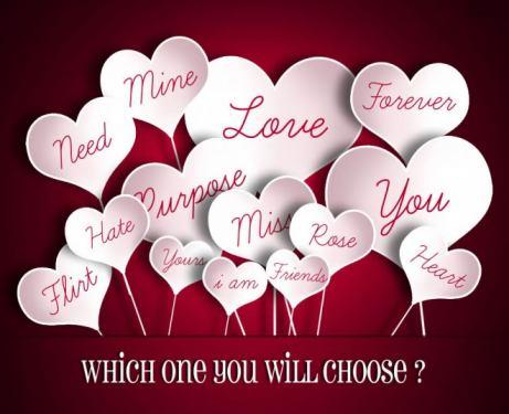 Hình valentine dành tặng nửa kia của cuộc đời mình