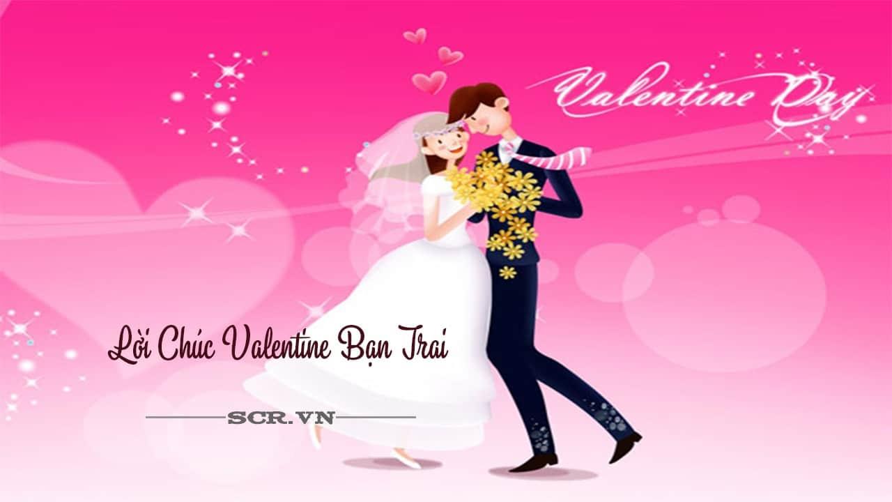 Lời Chúc Valentine Bạn Trai
