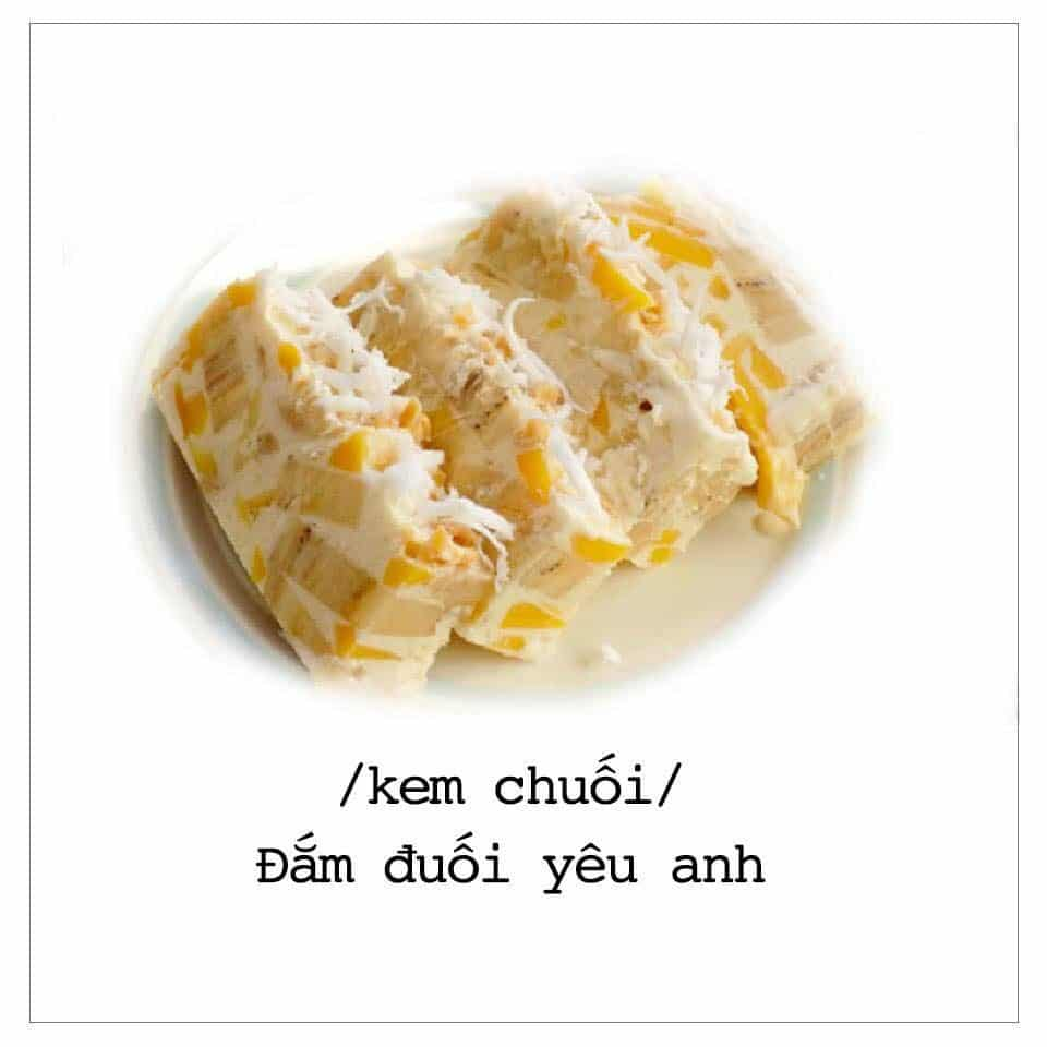 Món Kem Chuối