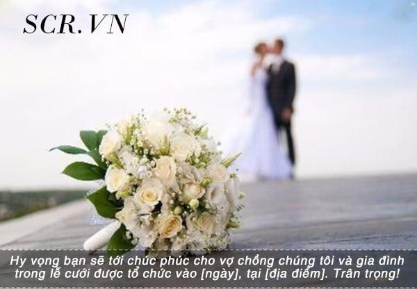 Stt mời đám cưới giản dị