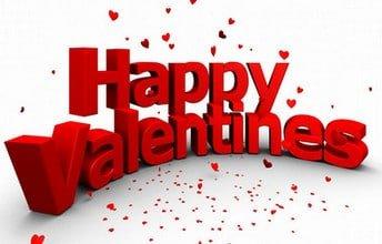 Thiệp valentine xếp khối 3D ấn tượng