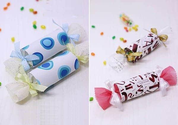 hình gói quà Valentine dễ thương nhất hình cây kẹo dành tặng người yêu