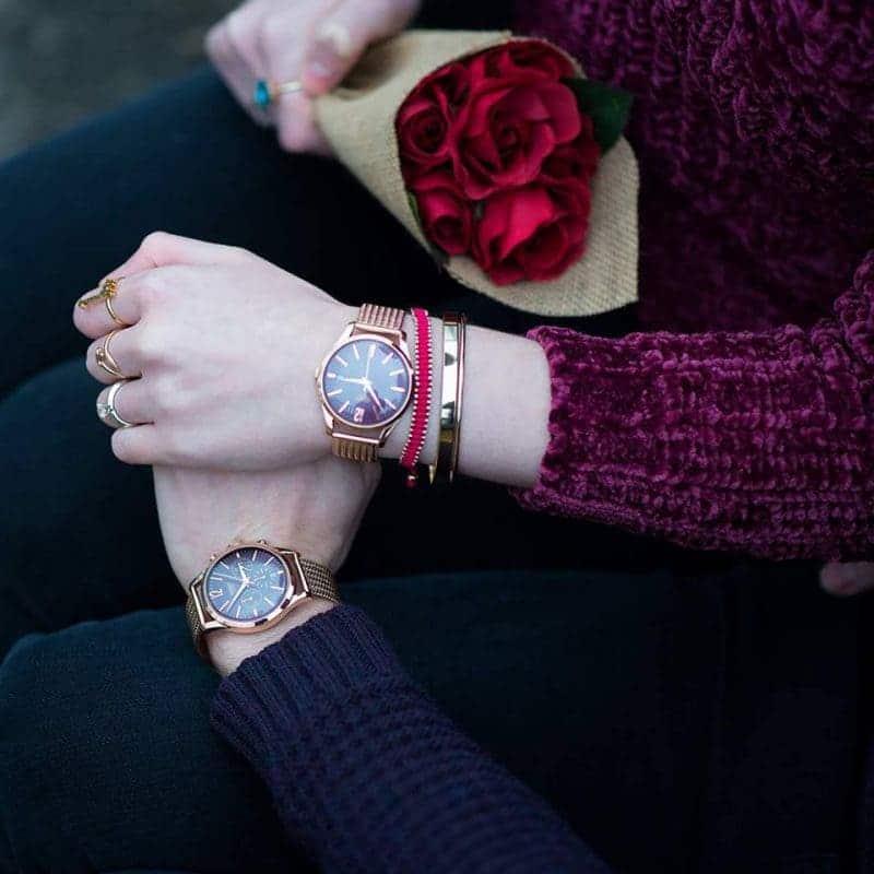 tặng đồng hồ đeo tay đôi dịp lễ tình nhân