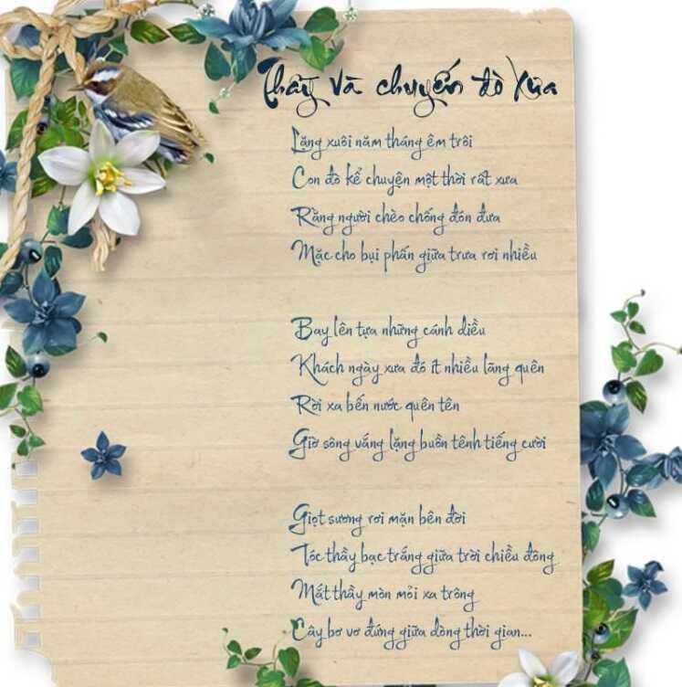 Bài thơ người lái đò