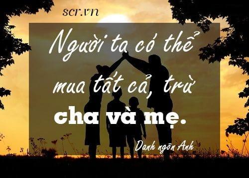 Những câu nói hay về bố mẹ đặc sắc