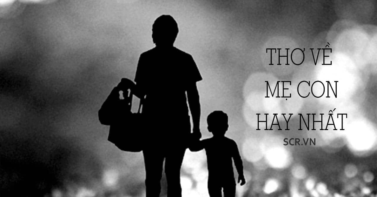Thơ Về Mẹ Con
