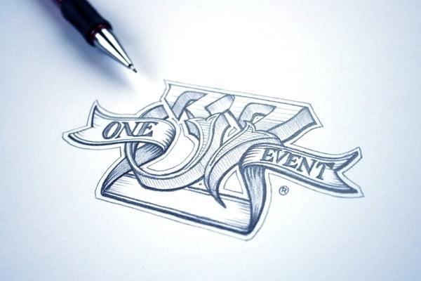 Vẽ hình và chữ kiểu bằng bít chì đẹp