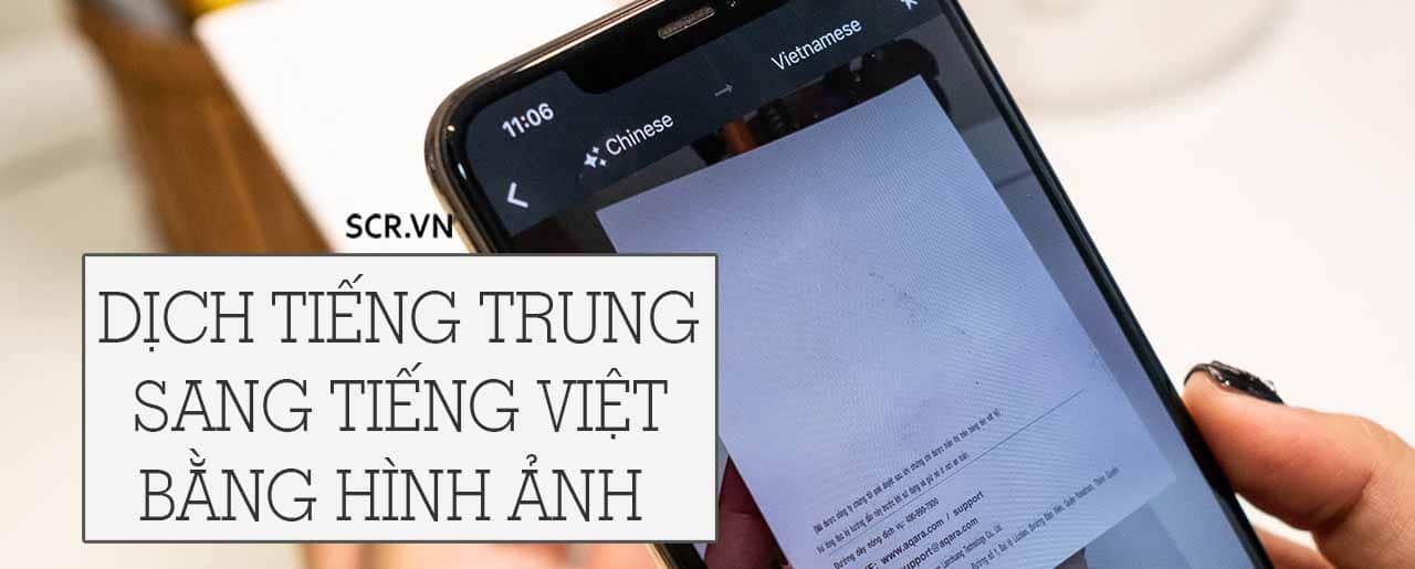 Dịch Tiếng Trung Sang Tiếng Việt Bằng Hình Ảnh