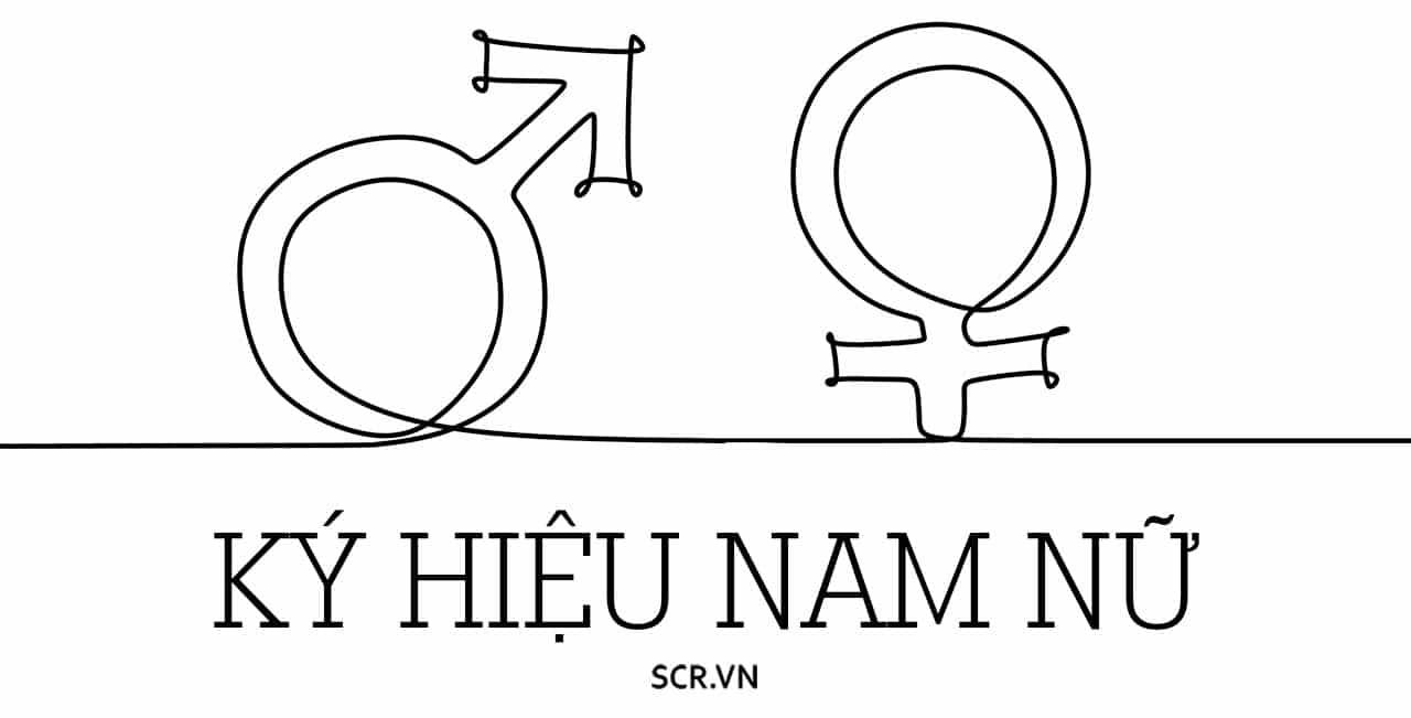 Ký Hiệu Nam Nữ