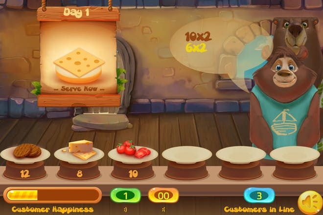 Game Đố Vui Toán Học - Happy Burger