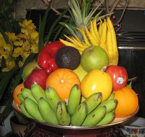Giới thiệu mâm lễ trái cây cúng khai trương