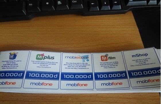 Card Mobi 100k