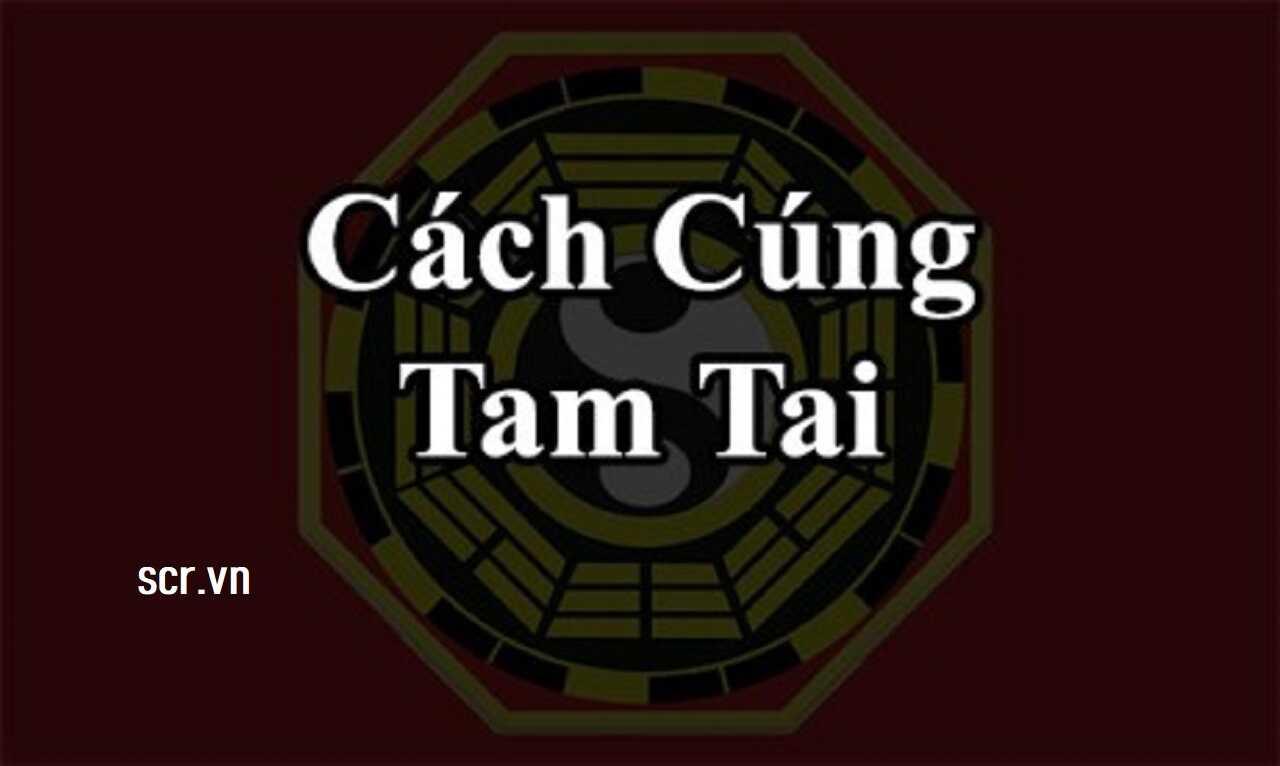 Cúng Tam Tai