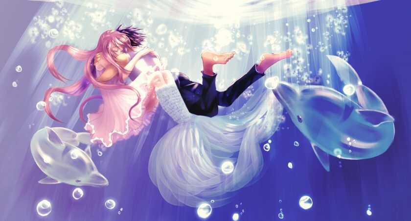 Ảnh Anime Lạ Về Song Ngư Nam