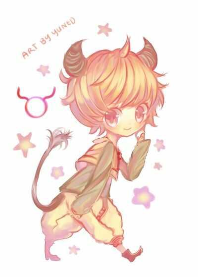 Ảnh Cute Kim Ngưu Chibi