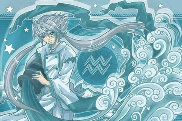 Hình Anime Cung Bảo Bình Nam