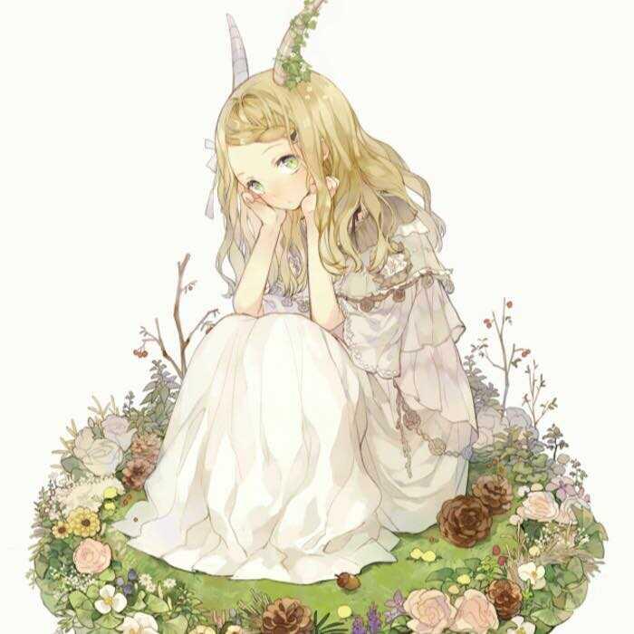 Hình Anime Cung Ma Kết Nữ Cute
